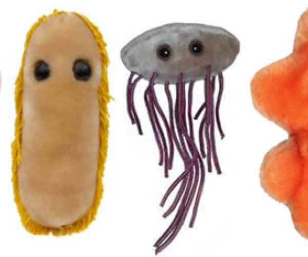 Giant Plush Microbes: Cute, Huggable and Possibly Lethal