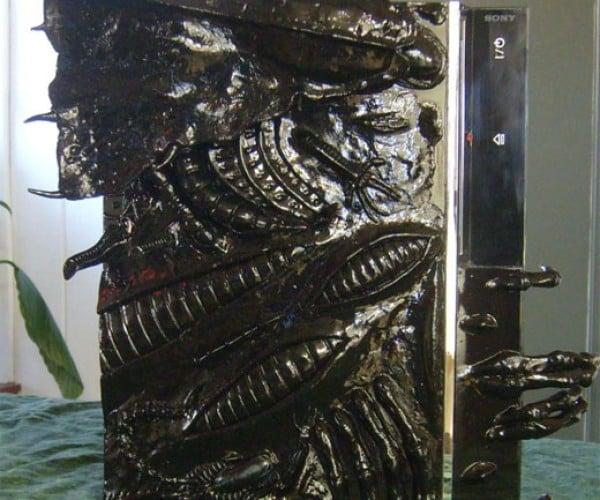 Alien PS3 Casemod: Ripley, Believe It or Not.