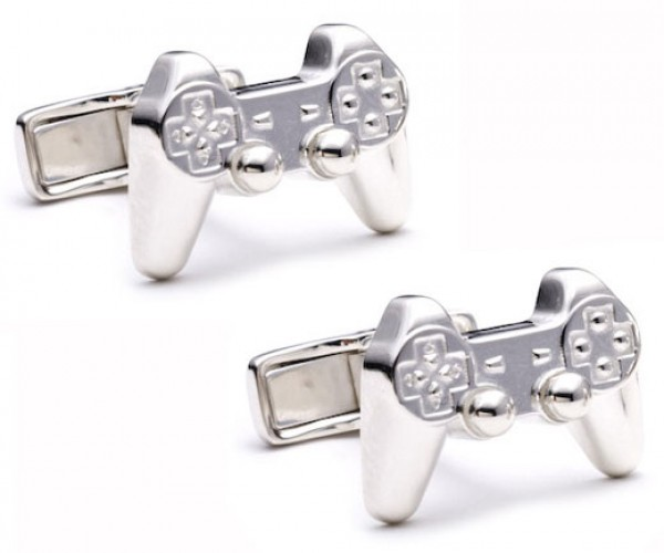 Game Controller Cufflinks for Semi-Formal Gamers