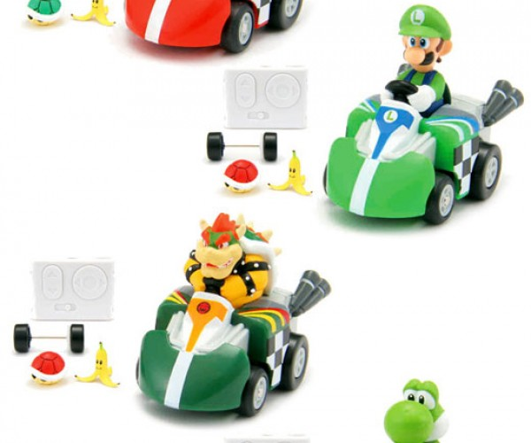 Q-Steer Mario Kart Remote Contol Cars Bring Video Game Races to the Real World