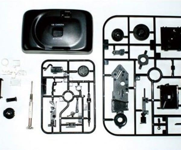 Plamodel DIY 35mm Camera Kit Snaps Together, Then Snaps Photos