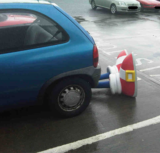 sonic car accident