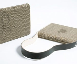 Eco-Chic: Pad Your Laptop With Recycled Cardboard