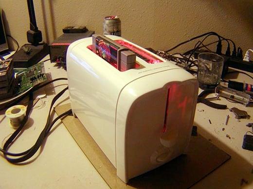 super nintoaster snes mod toaster