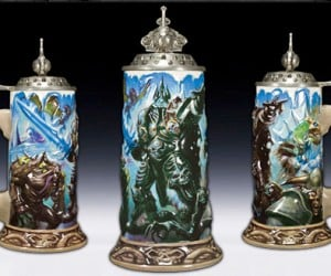 World of Warcraft Beer Steins for When the Raid Goes Badly