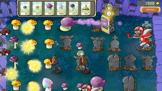 plants vs zombies popcap casual tower defense