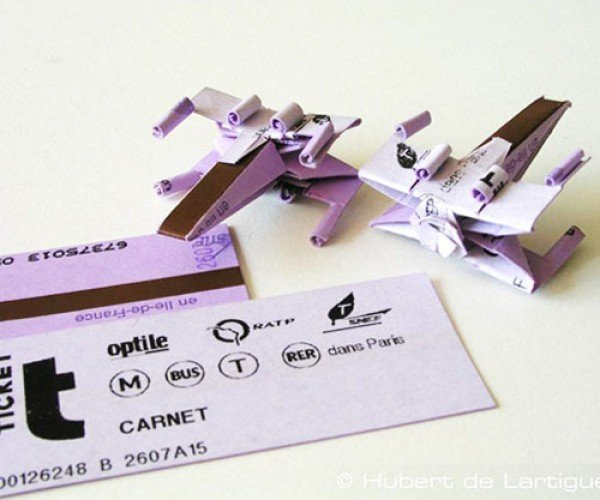 Turn Your Old Tickets Into X-Wing Fighters