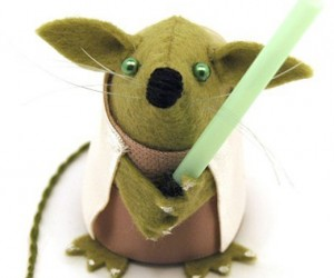 From a Mousehole Far, Far Away: Star Wars Mice