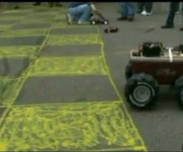 Sparkfun'S Autonomous Vehicle Race: Autobots,Rollout! No, Not There! Get Back Here!
