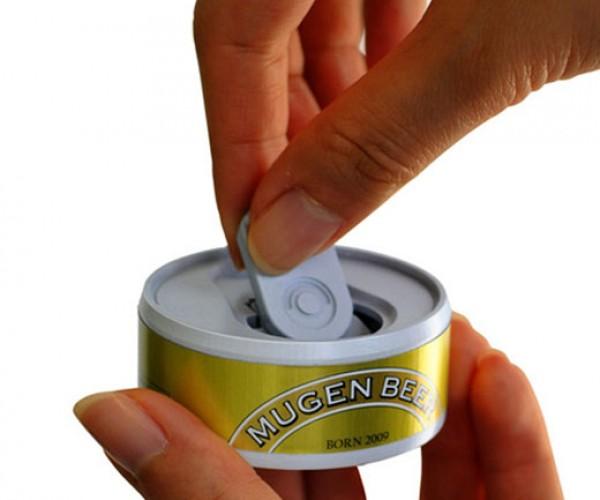 Bandai Mugen Beer Can Simulator: Pop Open a Cold Un-Refreshing Un-Brew