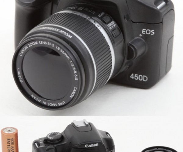 Canon Eos 450d Not a Camera at All, Actually a USB Flash Drive?