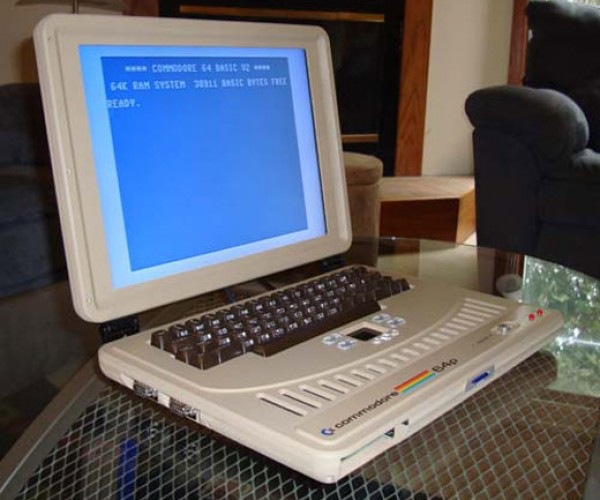 Play International Karate on the Go With the Commodore 64 Laptop