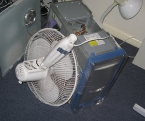 Giant Computer Fans: Not Cool (Unless Your Name is Macgyver)