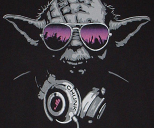 Make People Sweat I Will: Yoda Dj Shirt