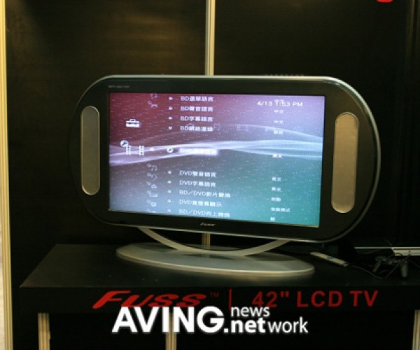Psp-5000?: Ultmost Technology'S 42″ LCD Tv Sure Doesn'T Look That Portable