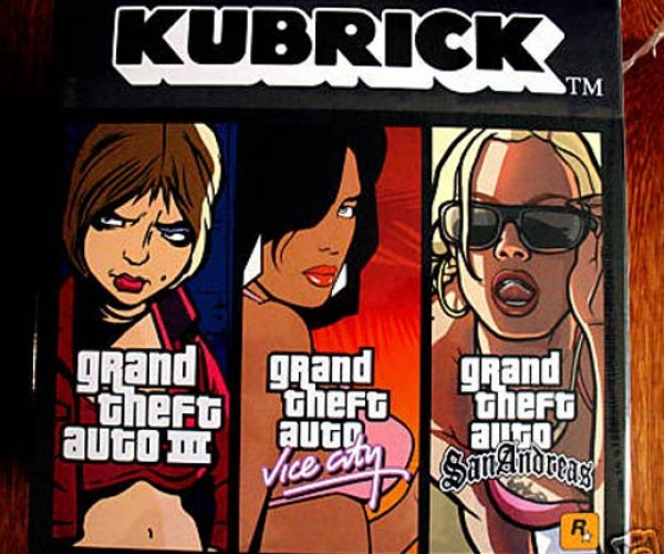 Grand Theft Auto Kubrick Triple Pack on Ebay: the Cutest Gangsters & Criminals You'Ll Ever See