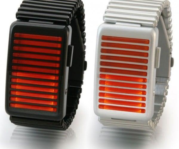 Kisai Denshoku LED Watch: How a Cylon Tells the Time