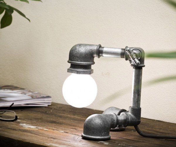 Kozo Lamps: Just Turn the Faucet on and Light Comes Out! Wait What?