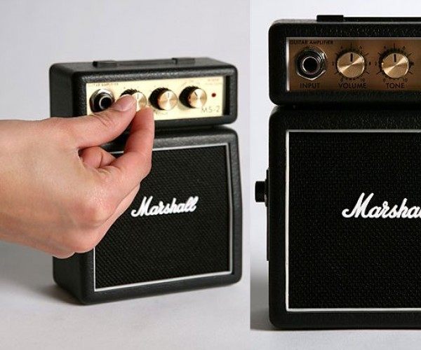 Mini Mp3 Amps Don't Go to 11, but Will Rock the (Doll) House