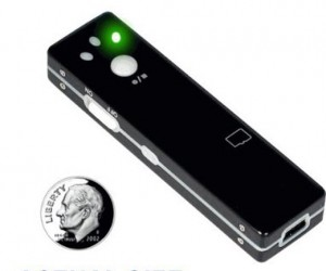 Sneaky Stick: Portable Hidden Camera With Built-in Dvr and Audio