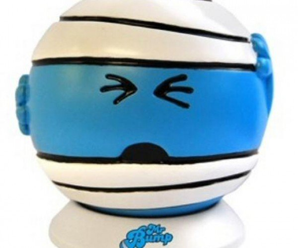 For Grumpy, Non-Morning People: Mr. Bump Alarm Clock Turns Off When Thrown Against Wall