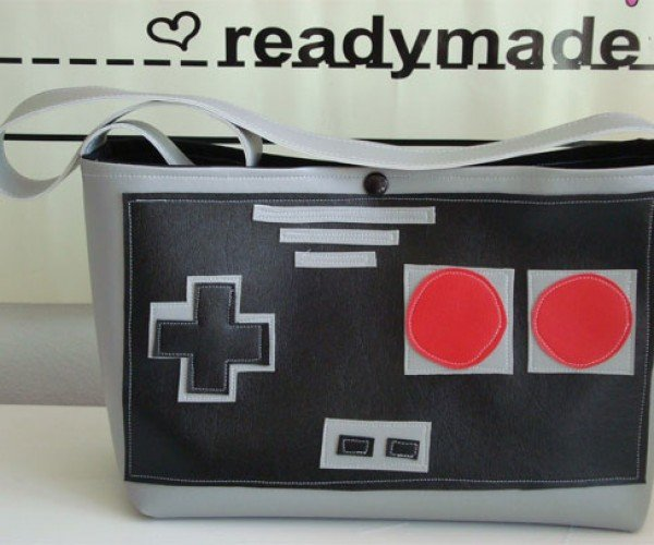 NES Controller Purse for 8-Bit Fashionistas