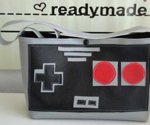 NES Controller Purse for 8-Bit Fashionistas