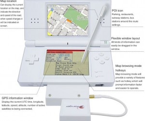 Nintendo Ds Lite Gets Gps Navigation With Google Maps