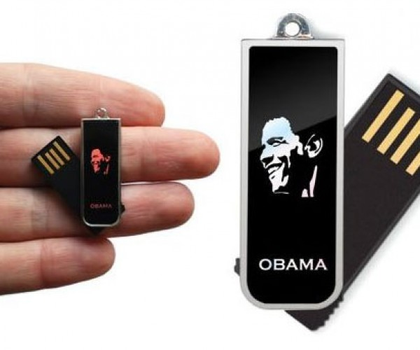 Storage We Need: Obama Flash Drive Preloaded With Inaugural Address