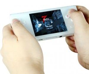 Dingoo A320 Handheld Gaming System Plays NES, SNES, Genesis, Gba, Neo-Geo and Capcom Arcade Games