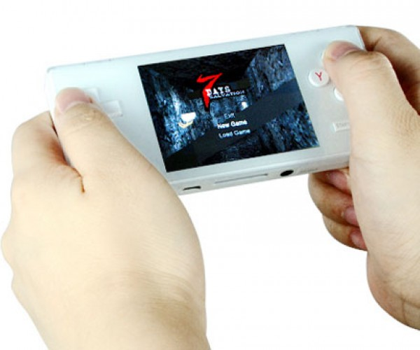 Dingoo A320 Handheld Gaming System Plays NES, SNES, Genesis, Gba, Neo-Geo and Capcom Arcade Games