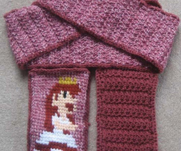 Royal & Practical: Princess Toadstool Scarf With Pockets