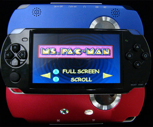 psp knockoff emulator