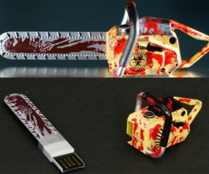 Resident Evil 5 Chainsaw USB Drive Will Ensure Your Survival if Tiny Zombies Invade