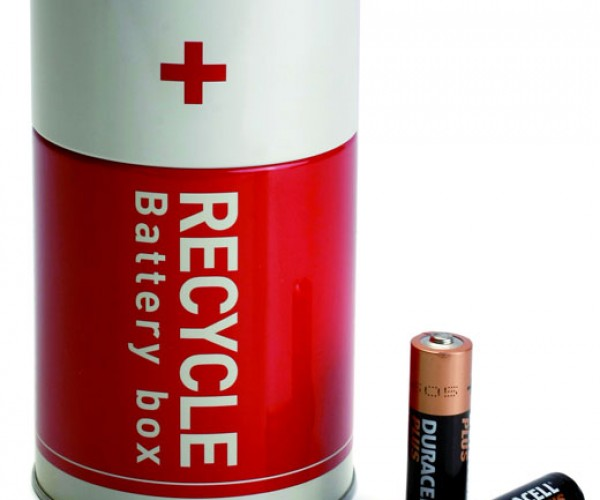 Recycle Your Old Batteries by Putting Them Inside Another Giant Battery