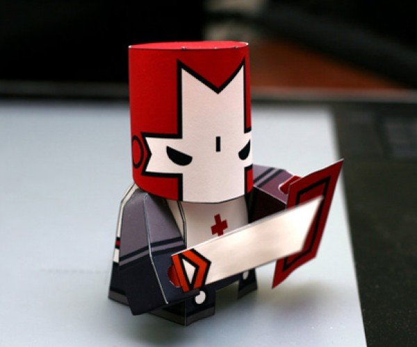 Evil Paper Wizards Beware, Castle Crashers Papercraft Are Here