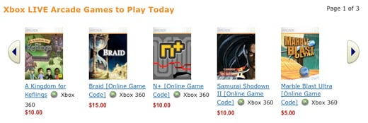 amazon video game xbla points microsoft