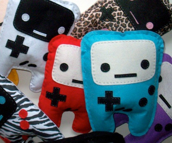 Game Boy Plushies Grow Legs