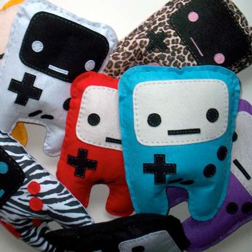 nintendo felt game boy plush