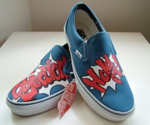 Voice an Objection With Custom Phoenix Wright Shoes
