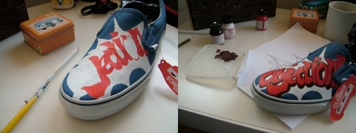 phoenix wright shoes custom