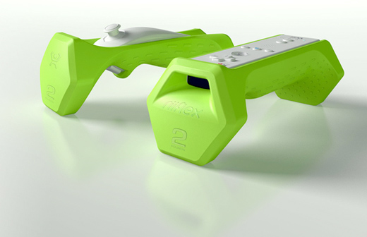 powerplay nintendo wii riiflex weights accessories