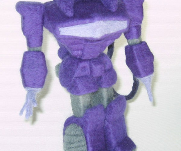 Shockwave the Woolly Decepticon [Transformers]