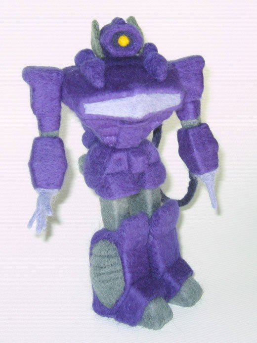 transformers felt shockwave