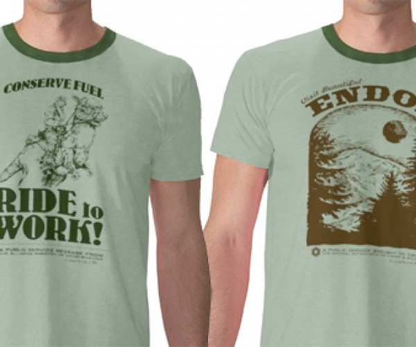 Star Wars T-Shirts for the Eco-Geek