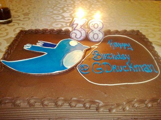 twitter cake birthday @gdruckman