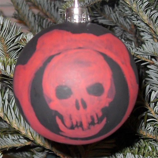xbox 360 games ornaments christmas gears of war