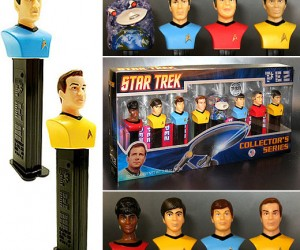 On Ebay: Candy Conquers the Final Frontier With Limited Edition Star Trek Pez Set