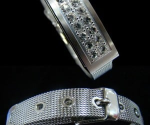 Sparkly USB Bracelet Stores Memories on Your Wrist