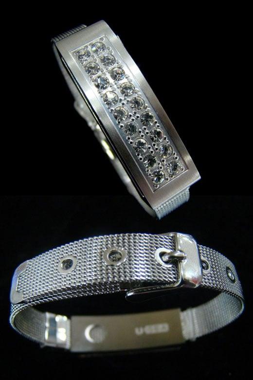 usb sparkly bracelet
